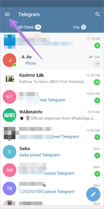 Stop telegram contact joined notifications android iphone 2